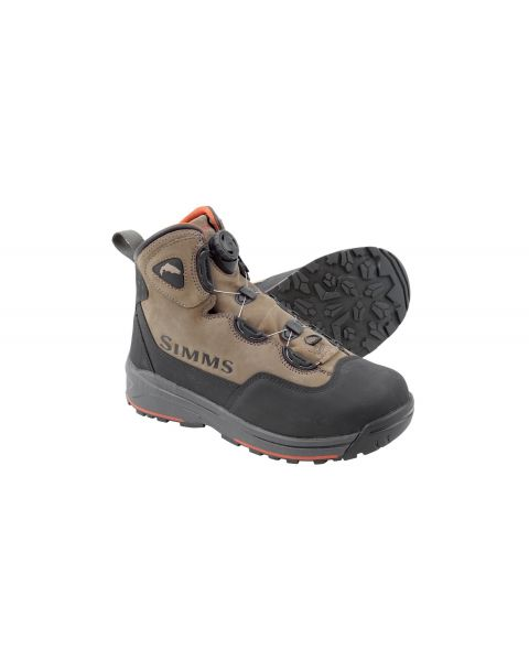 simms headwaters boa wading boots vibram